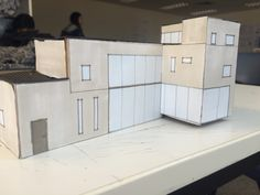 Studio assignment proposed house in Goolwa, model
