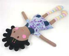 DIY fabric dolls