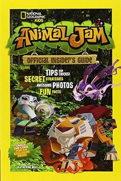 The official guide to the amazing virtual world of National Geographic Kids Animal Jam, this colorful, fun companion book offers novices and expert gamers alike all they need to know. Animals Of The World, Animals For Kids, Animals And Pets, National Geographic Kids Animals, Animal Jam Codes, Animal Jam Play Wild, Wolf, Animal Books, Warrior Cats