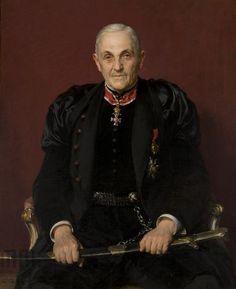 Kazimierz Pochwalski - Portret Dawida Abrahamowicza 1914 r, Muzeum Narodowe w Krakowie