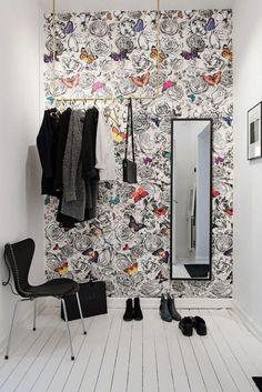 Du papier peint pour embellir votre entrée – Cocon de décoration: le blog