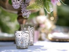 Candle holders for tables