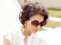Short Haircut Styles For Short Curly Hair Haircuts For Curly Hair, Curly Hair Cuts, Short Curly Hair, Short Hair Cuts, Bob Hairstyles, Curly Hair Styles, Pixie Haircuts, Short Wavy, Curly Pixie