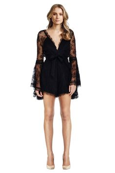 Hire Alice McCall - Gemini Playsuit - Black for a fraction of the retail price for an upcoming birthday party. Rent Dresses Online, Dress Rental, Black Playsuit, Alice Mccall, Gemini, Jumpsuit, Rompers, Gowns, Vestidos