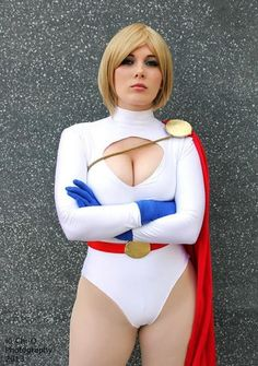 Power Girl - again, who is more powerful? (Okay, say it, Wonder Woman... maybe)