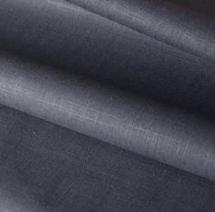 A beautiful, solid dark charcoal grey fabric with a subtle texture.Perfect for upholstery, drapery, roman blinds, cushions, pillows and many other home decor pr