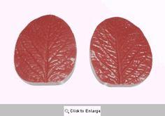 Rose Leaf Silicone Veiner Mold by Fat Daddio's