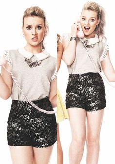 I love Perrie's outfit. Just wish I could pull that off ya know...
