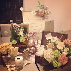 beautiful welcome space lovely flowers♡