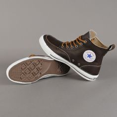 Chuck Taylor All Star Classic Boot (Brown Leather)