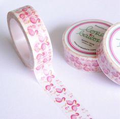 Kissing Flamingo Washi Tape by Lora Bailora by DaisyGreyPretties