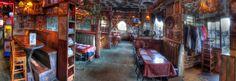cameron's pub, half moon bay....fun english pub complete with a double decker bus