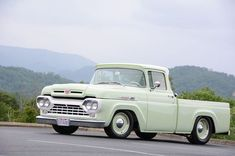 Subtle and Clean 1960 Ford — Classic Trucks Car Insurance Rates, Classic Car Insurance, Best Car Insurance, Classic Ford Trucks, Ford Pickup Trucks, Jeep Pickup, 4x4 Trucks, Classic Cars, Old Ford Pickups