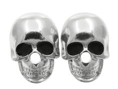SKULL Silver earrings- and 10$ for you- read details! - $25