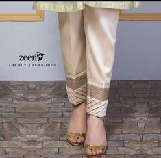 outfit ideas for women Kurti Neck Designs, Salwar Designs, Blouse Designs, Dress Designs, Bermudas Shorts, Trouser Pants, Plazzo Pants, Palazzo Trousers, Pakistani Dress Design