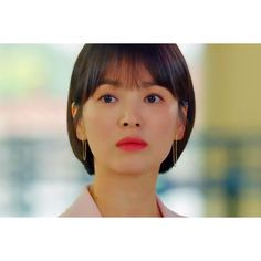 Encounter Boyfriend Song Hye Kyo Inspired Earrings 005 - So Not Size Zero Song Hye Kyo, Songs For Boyfriend, Short Hair Cuts, Short Hair Styles, Divas, Korean Accessories, Sad Anime Quotes, Size Zero, Cute Korean