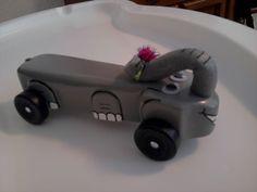 Pinewood Derby car - Elephant Car