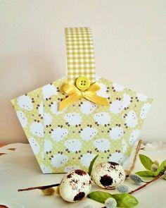 Baranova / veľkonočný papierový košík Easter paper basket for kids