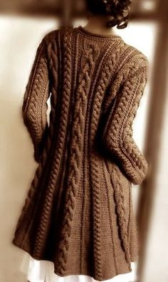 Hand Knit Wool Cable Sweater Coat Cable Knit Sweater Many Colors Available Gorgeous Knitted Large Cardigan-make this for Mom some day! Merino Wool Sweater, Sweater Coats, Cable Knit Sweaters, Cable Cardigan, Cardigan Sweaters, Women's Coats, Sweater Knitting Patterns, Coat Patterns, Hand Knitting
