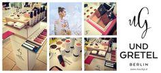 """{ UND GRETEL }  DAS Make-Up Highlight 2015 ist gestern in unserer Naturparfumerie eingetroffen. """"UND GRETEL l Natural & Organic Make-Up"""".   Wir sind sehr stolz und voller Freude diese neue und einzigartige Make-Up Marke aus Berlin exklusiv in Wien und in unserem Onlineshop anbieten zu dürfen!  Die Produkte: www.staudigl.at   KOSTENLOSE Schmink- und Beratungstermine könnt Ihr euch zu jeder Zeit in unserer Naturparfumerie unter 01/512 82 12 ausmachen. Berlin, Up, Polaroid Film, Organic Beauty, Products, Proud Of You, Home Made, Glee"""