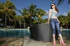 WESTWOOD Jeanswear introduces Denim Capri Pants from Spring-Summer'15 Collection