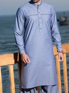 Simple & Embellished Kurta Designs 2016-2017 by J. Majestic Eid Collection (11)