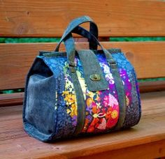 Sew and Sell the Nora Doctor Bag with Swoon's PDF Sewing Pattern
