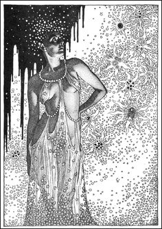 Virgil Finlay - The Rebel Soul, from Famous Fantastic Mysteries