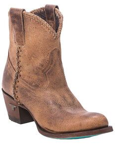 Roper Women's Brown Selah Booties - Round Toe - Country Outfitter Kids Western Boots, Kids Boots, Cowgirl Boots, Brown Booties, Ankle Booties, Bootie Boots, Roper Boots, Frye Boots, Hiking Boots Women