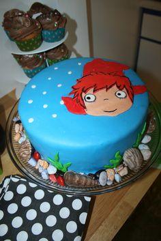 Ponyo Cake 3