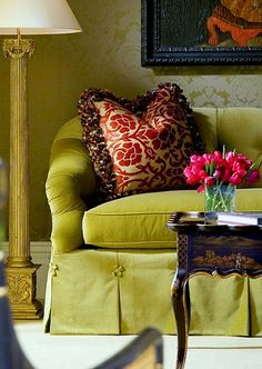 Ruth Burts Interiors: fifty shades of green