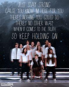 Glee 1x07 - Throwdown | Keep Holding On