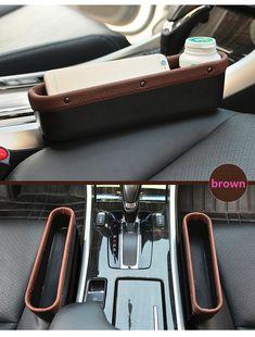 Favorable Leather Car Seat Storage Box Auto Seat Gap Pocket Organizer For Phone Card Cigarettes Storage - NewChic Mobile