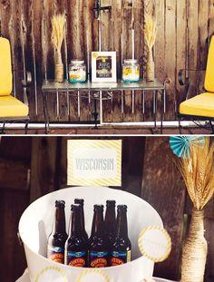 Stylish Backyard Beer Bash {Adult Birthday}