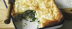Spanakopita recipe, brought to you by MiNDFOOD.