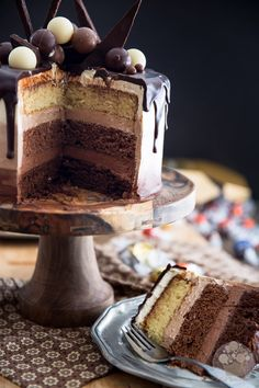 As spectacular looking as it is delicious tasting, this Triple Chocolate Ombre Cake is sure to make a winning and long lasting impression!