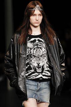Saint Laurent: Tiger Knit Sweater