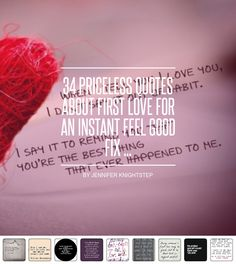 27295e702c8 34 Priceless Quotes 💭 about First Love 💘 for an Instant Feel Good Fix 😊 .