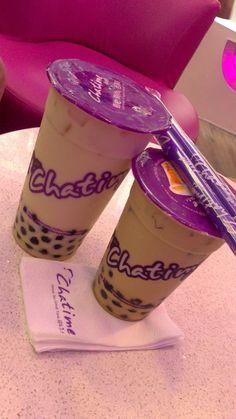 Chatime All U Can Eat, Yummy Drinks, Yummy Food, Sleepover Food, Snap Food, Starbucks Drinks, Food Goals, Bubble Tea, Korean Food