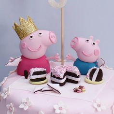 #Peppa #Birthday #Cake - Love it!