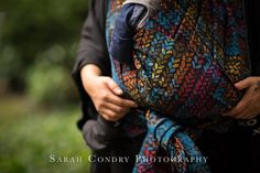 Baby Carrier Wrap Halo, made by Woven Wings, in pattern Knitwear, contains cotton linen merino silk Limited Edition, released 11 November thickness 272 Baby Wrap Carrier, Egyptian Cotton, Baby Wearing, Knitwear, Wings, Photography, Knots, Photograph, Tricot
