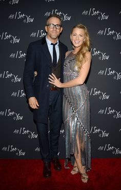 Blake Lively teases Ryan Reynolds for his birthday. Blake Lively was feeling playful on husband Ryan Reynolds' birthday. Blake Lively Outfits, Blake Lively Family, Blake Lively Style, Blake And Ryan, Blake Lively Ryan Reynolds, Serena Van Der Woodsen, Cute Celebrity Couples, Cute Couples, Power Couples