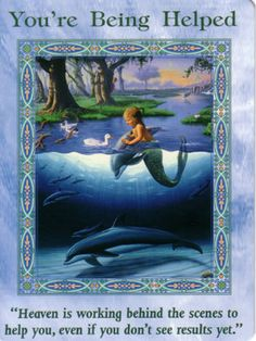 This is a card about spiritual and elemental support for what you are manifesting. Read more here http://www.angelmessenger.net/angel-cards-2/youre-being-helped/
