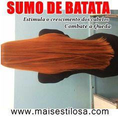 Oi lindonas! No post de hoje vou ensinar o passo a passo de como fazer o suco/sumo de batata para fazer o cabelo CRESCER MUITO RÁPIDO  e ...