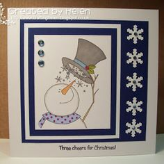Using 'Three Sparkly Snowmen' from Little Claire