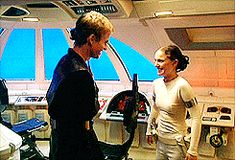 Anakin Skywalker & Padmè Amidala (Hayden Christensen & Natalie Portman) - Behind the scenes - Star Wars Episode II: Attack of the clones