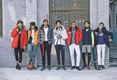 BTS x Puma invite you to Play Warm this winter - OMONA THEY DIDN'T! Endless charms, endless possibilities ♥