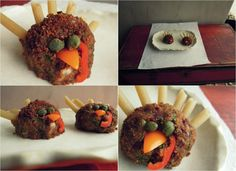 Turkey Meat-ah-balls. - Fork and Beans