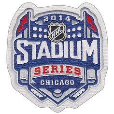 Chicago Blackhawks 2014 NHL Stadium Series Patch by National Emblem