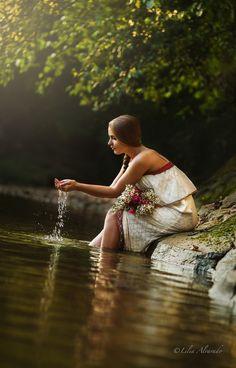 Photograph By The Creek by Lilia Alvarado on 500px